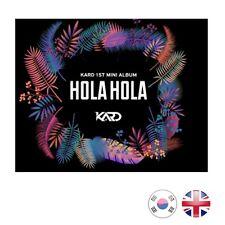 [NEW + SEALED!] KARD 1st Mini Album HOLA HOLA CD Album | Kpop K-Pop UK