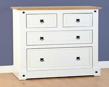 Pine Unbranded Traditional 4 Chests of Drawers