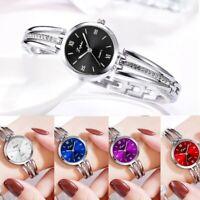 Damen Student Fashion Watch Edelstahluhr kleines Zifferblatt Quarz-Armbanduhr