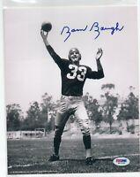 Sammy Baugh Autographed Signed 8x10 Photo PSA DNA Washington Redskins