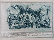 1916 SERBIAN COMMAND POST; FRENCH GUNS REINFORCE SALONIKA WWI WW1