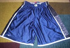 Nike Heavy Authentic Stitched Georgetown Hoyas Blue Basketball Shorts L jersey