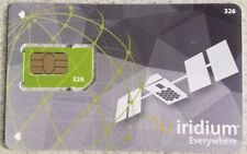 Iridium Satellite Phone Prepaid SIM Card