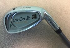 Men's Wilson ProStaff Wide Tip Graphite Shaft RH Pitching Wedge Golf Club