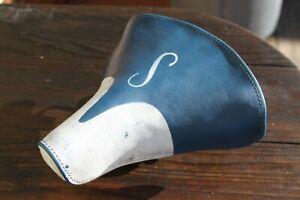 """Schwinn Mesinger S saddle 9x9"""" USED Blue/White approved"""