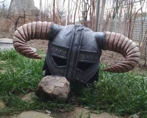 Dovahkiin Elder Helmet  Scrolls V Skyrim Dragonborn Inspired TES V props