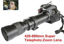 Lente Teleobjetivo 420mm-800mm Para Sony A500 A380 A330 A900 A850 A700 A500 A550 A580