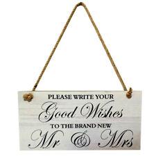 wedding rustic romantic Mr & Mrs sign