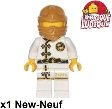 Lego - Figurine Minifig Ninjago Hood cagoule Mannequin blanc njo343 70620 NEUF