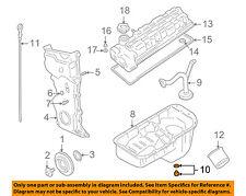 Chevrolet GM OEM 99-03 Tracker 2.0L-L4-Engine Oil Drain Plug 91177579