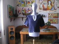 Vintage - T.Shirt / Jersey De Body Building Velvet 1985 100% Coton Parfait
