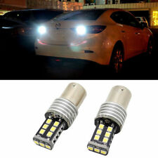 2X Canbus Error Free P21W 1156 White LED Bulb Back Up Reverse Light lamp for car