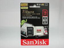 Sandisk 16G Micro Extreme SD card for Sony HD CX450 AS20 CX330 CX240 AS100 AZ1VR