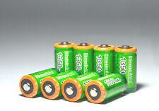 8pcs ETINESAN CR123A LiFePO4 1350mah rechargeable batteries camera battery