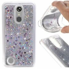 For LG &ZTE Phone Case Dynamic Quicksand Glitter Flowing Bling Liquid Soft Cover