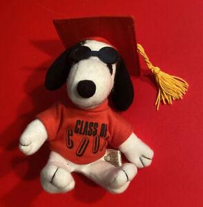 SNOOPY The Dog Peanuts Plush Toy High Decoration High School College Graduation