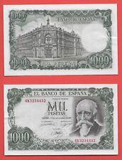 ESPAGNE  BILLET DE 1000 PESETAS 17/09/1971 U.N.C
