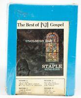 Vintage NOS 8 Track Tape UNTESTED Gospel VJ Vee Jay Uncloudy Day Staple Singers