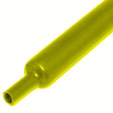 GAINE THERMORÉTRACTABLE DIAMETRE 19 mm 2:1 THERMO RÉTRACTABLE JAUNE PRIX 1 MT