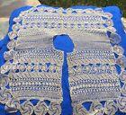 Rare+Big+Antique++Handmade+Armenian+Knotted+Needle+Lace+Collar+Not+Crochet%21+