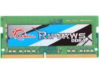 G.SKILL Ripjaws Series 8GB 260-Pin DDR4 SO-DIMM DDR4 2666 (PC4 21300) Laptop Mem