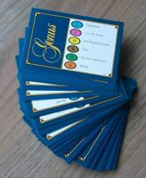 Trivial Pursuit Genus Edition 50 Spare Question/Answer Cards Excellent Condition