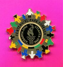 1996 OLYMPIC PIN CENTENNIAL PARK FOREVER PIN PIN LIMITED EDITION SERIAL # 1996