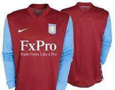 Nike Aston Villa Home Football Shirts (English Clubs)
