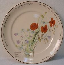 NORITAKE china COUNTRY DIARY-EDWARDIAN LADY pattern Dinner Plate @ 10-1/2""