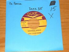 "BLUES 45 RPM - LITTLE JUNIOR PARKER - DUKE 315 -""DANGEROUS WOMAN/BELINDA MARIE"""