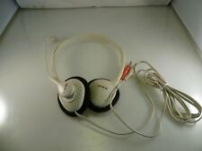 Computer Stereo Headset with Swivel Microphone Skype Use etc. OM0802