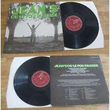 JEAN'S OU LE FOU D'ASSISE Rare French LP Concept Xian Prog 75