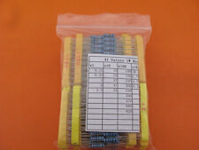 41 values each 10pcs, 1W Metal Film Resistor Assorted Kit DIP through hole
