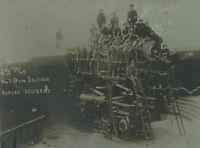 ANTIQUE 1910 FT MONROE VA ATLANTIC COAST ARTILLERY GUN PRE EXPLOSION RARE PHOTO