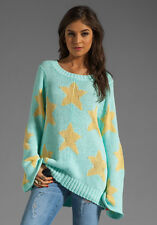 WILDFOX COUTURE STARRY EYED MY FAVOURITE SWEATER MALL  SZ L BRAND NEW W/OUT TAGS