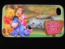 Pooh & Friends Hard Cover Case for iPhone 4 4s By The Pond Piglet Eeyore Tigger