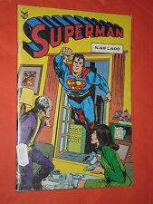 SUPERMAN SELEZIONE-ALBI CENISIO  N°68 -DEL1982+ENTRA HO DISPONIBILI-ALTRI NUMERI