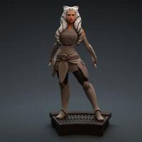 AHSOKA TANO STAR WARS || Custom Resin Model Kit Figure/Statue 1/10 200mm