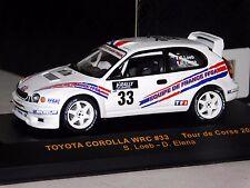 TOYOTA COROLLA WRC #33 S. LOEB / ELENA  TOUR DE CORSE 2000 IXO RAC062 1:43