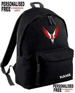Youth Maverick Logan Paul INSPIRED gym school backpack MERCH PERSONALISED FREE