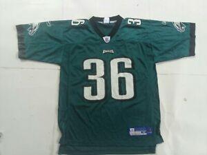 Brian westbrook Reebok Philadelphia Eagles Green Home Jersey Size M