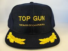 Top Gun The Bank Of California Vintage Snapback Cap Hat