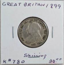 1899 Great Britain Shilling