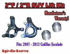 """2007 - 2013 Cadillac Escalade 2WD 3"""" / 2""""  Spindle + Rear Spacer Lift Kit"""