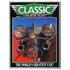 Classic and Sportscar Magazine December 1986 MBox3310/E The world's greatest car