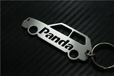 For Fiat PANDA CAR keyring keychain porte-clés 4x4 MULTIJET FIRE100HP CROSS TREK