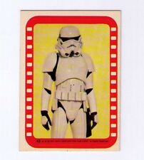 Star Wars  #43 Storm Trooper Sticker Topps 1977 Series 4
