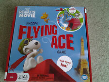 SNOOPY FLYING ACE & RED BARON FAMILY BOARD GAME from THE PEANUTS MOVIE retired!!