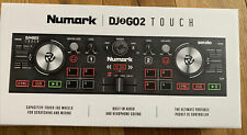More details for numark dj2go2 touch 2 deck usb dj controller for serato dj new sealed