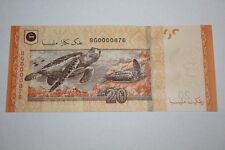 (PL) NEW: RM 20 BG 0000876 UNC ZETI LOW DESCENDING LADDER & ALMOST SOLID NUMBER